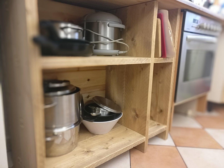 Kuchenschrank Selber Bauen Aus Bauholz Pommes Man