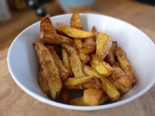 frische Kartoffel Pommes
